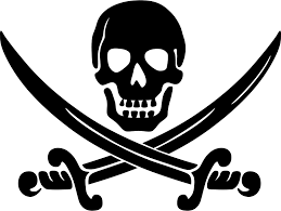 Free Clipart: Calico Jack pirate logo | Clue