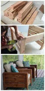 furniture deck. Modern Outdoor Chair Plans Free By Ana-white.com #BEHRThinkOutside Furniture Deck U