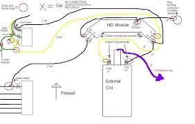 project hei module external coil install mazda mx 6 forum i connected right after the resister to the c wire here is a wiring diagram i drew up to show you what i mean and to explain all the lengths i mentioned