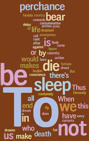 cool word cloud of hamlet s to be or not to be soliloquy  cool word cloud of hamlet s to be or not to be