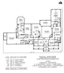 plan no 4443 0409 4 bedroom 1 story house plans bed room floor 4 bedroom 1
