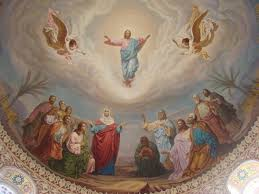 Image result for pictures of Jesus ascending into Heaven