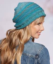 Free Slouch Hat Knitting Patterns Custom Keep Warm With Slouchy Hats And Super Scarves Red Heart