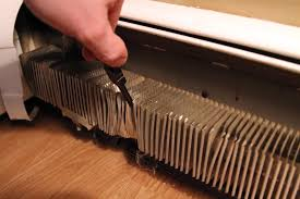 preventing black marks on the walls from your baseboard heaters levittown comfort