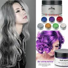 mofajang 7 colors disposable hair color wax mud dye styling cream diy coloring 3 3 of 12