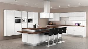 Kitchens Interiors Fancy Modern Kitchen Design Interiors With White Wood Kitchen