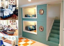 Nautical Bedroom Decor Cool Nautical Kids Bedroom Decorating Ideas A