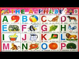 A For Apple B For Boll English Varnamala Hindi Alphabets