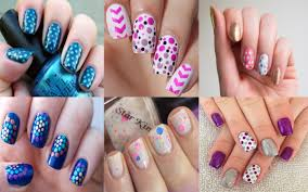 28 Easy Step by Step Polka Dot Nail Art Tutorial for Beginners and ...