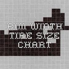 Rim Width Tire Size Chart Rim Width Tire Size Chart Honda Cx500 C Parts
