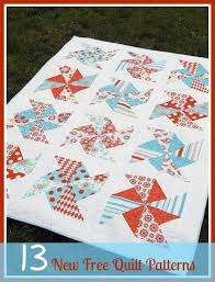 13 New Free Quilt Patterns + 8 Easy Quilt Patterns | AllFreeSewing.com & New Free Quilt Patterns Adamdwight.com