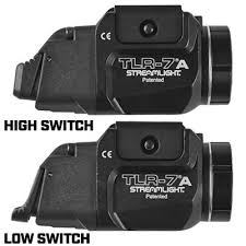 Streamlight Tlr Comparison Chart Streamlight Tlr 7 High Switch Low Switch Rail Locating