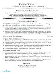 Customer Service Representative Resume Amazing Customer Service Representative Resume Call Center Customer Service