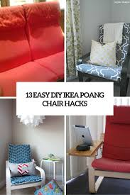 13 easy diy ikea poang chair s cover