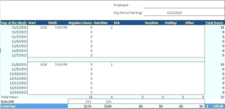 Free Excel Template Ms Employee Monthly Download Bi Weekly Simple