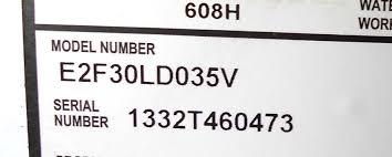 Us Craftmaster Water Heater Age Chart Water Heater Serial Number Decoder How To Determine State