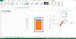 Creating A Thermometer Goal Chart In Excel How To Create Thermometer Goal Chart In Excel Step By Step