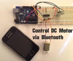 arduino control dc motor via bluetooth 4 steps pictures