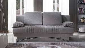 fantasy coton gray convertible sofa bed