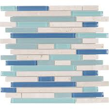 l and stick glass tile