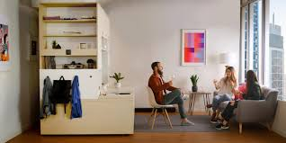 Robotic Shape Shifting Furniture Transforms Studio Living