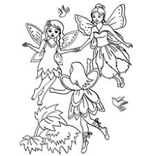 Popular varieties of fairy coloring pages include those featuring characters like tinkerbell and the fairy godmother. Top 25 Free Printable Beautiful Fairy Coloring Pages Online