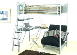 loft bed with futon underneath futon desk combo bunk bed with desk underneath image of futon loft bed with futon