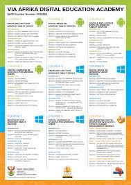 Microsoft Office Curriculum Select A Session Via Afrika Digital Education Academy