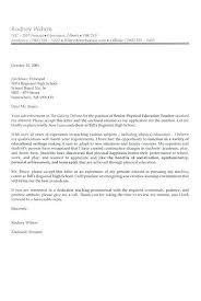 Cover Letters For Education Cover Letter Teacher Cover Letter Format