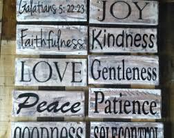 on spiritual wall art uk with fruit of the spirit etsy