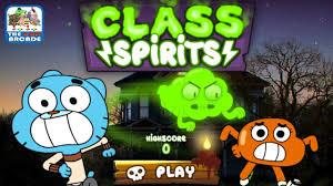 the amazing world of gumball cl spirits jealous of leslie cartoon network games you