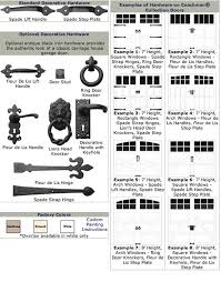 Garage Door Decorative Accessories Sunwood Custom Garage Doors Adding hardware to your wood door 20