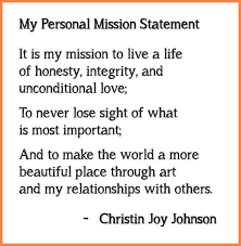 my vision statement sample 8 personal vision and mission statement examples for students