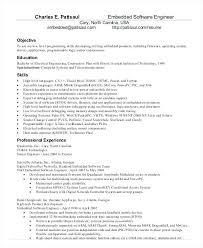 Resume Format Software Engineer Software Engineer Resume Template