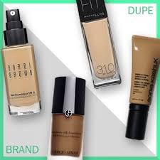 affordable makeup brands to foundation dupesbest