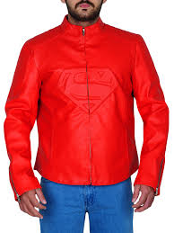 superman man red jacket man of steel