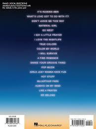 color my world sheet music priscilla queen of the desert the musical presto sheet music