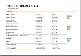 Ratios In Balance Sheet Balance Sheet With Financial Ratios Templates Balance