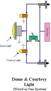 dome light wiring ford truck enthusiasts forums rc dome light wiring dome and courtesy wired together jpg views