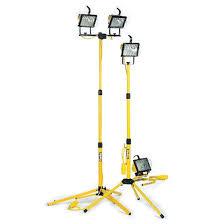 Tripod Site Light Double 1000w 240v Tripod Floodlight Edge Equipment Hire