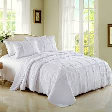 white quilt king. Perfect Quilt CHAUSUB Quality White Quilt Set 3PCS Coverlet Cotton Quilts Patchwork  Bedspread Embroidery Bed Cover Blanket Shams On King Z