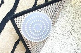 no slip rug pad anti slip rug pad non pads for rugs on carpet 4 pack