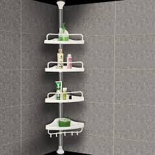 Telescopic Shower Corner Shelves Amazing Yosoo 32Tier Bathroom Corner ShelfAdjustable Telescopic Shower