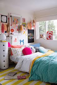 colorful teen girl s bedroom