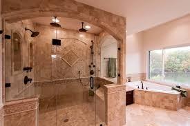 Roman-style Bath Adds Splendor to Reston Townhome traditional-bathroom