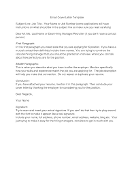 Cover Letter Proper Business Format Example With Subject Sample