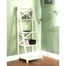 wooden ladder bookshelf antique