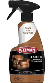 weiman leather cleaner and conditioner uv protection help prevent ing or fading for leather couch car