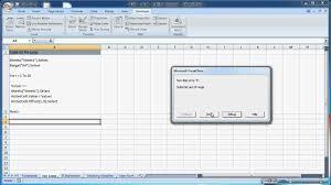 Excel Macros For Loop Youtube