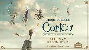 Tucson Convention Center Arena Seating Chart Cirque Du Soleil Corteo